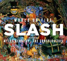 SLASH - WORLD ON FIRE   CD NEUF