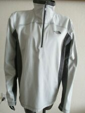 The North Face 1/3 Zip Pullover Top Men's M Gray