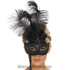 A773 Baroque Fantasy Eyemask Masquerade Burlesque Ball Mardi Gras Costume Mask