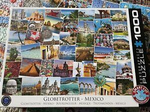 Eurographics 1000 Piece Jigsaw. Globetrotter - Mexico