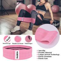 Cloth 3pcs/Set Fitness Legs Straps Circle Glute Squat Hip Resistance Bands New