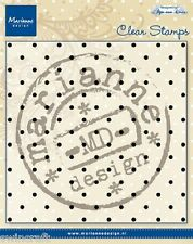 Marianne Design Clear Rubber Stamps ANJA'S DOTS CS0937  130x130mm *
