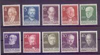 Berlin 1952 - Berühmte Männer MiNr. 91/100 postfrisch** - Michel 130,00 € (576)