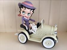 Extremely Rare! Betty Boop Driving in Car Figurine Statue