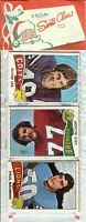 1975 Topps Football Holiday Christmas Rack Pack HOF Rookie RC Lynn Swann Poss?A4