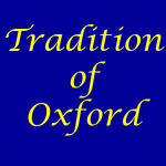 Tradition of Oxford