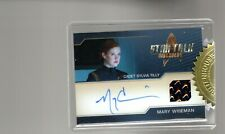 Star Trek Discovery Season 1 Mary Wiseman autograph Costume Relic card