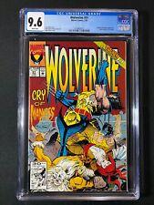 Wolverine #51 CGC 9.6 (1992) - X-men & Mystique appearance