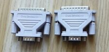 2X 29-4043-01 de Cisco DB25 macho a macho Adaptador Gris DB9