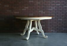 Dining Table ~ Round Dining Table ~ Country French Dining Table by Ethan Allen
