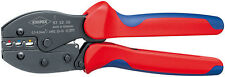 Knipex 975236 Preciforce Crimping Pliers With Multi-Component Grips 8 3/4 In