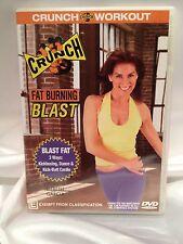 CRUNCH ~ FAT BURNING BLAST with LISBETH GARCIA ~ AS NEW DVD ~ **FREE POST