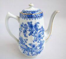 Cafetière en Porcelaine PM Porzellanfabrik Moschendorf Bavaria China Blau