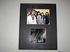 Chiodos Devil Full Group Signed Framed Matted CD Book 5x7 Photo Craig Owens