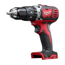 Milwaukee Hammer Drill Driver 18-Volt Lithium-Ion Cordless Keyless Chuck Brushed