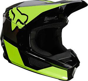 2021 Fox Racing Youth V1 Revn Helmet - Motocross Dirtbike Offroad Youth