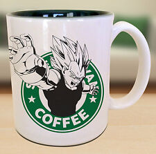 Vegeta Dragon Ball Z Starbucks Anime Manga Japanese Insipred Cartoon Mug
