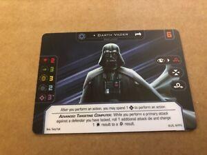 FFG OP XWING - Plastic Darth Vader / Luke Skywalker - Continentals