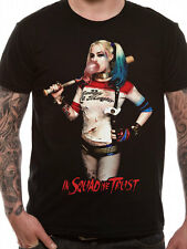 Official DC Comics SUICIDE SQUAD - HARLEY QUINN HQ SQUAD T-Shirt Tee S-XXL NEW