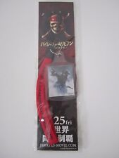 Pirates of the Caribbean at World's End Japanese Promo Strap-Johnny Depp