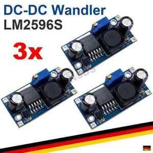 3x LM2596 DC Step Down Spannungswandler Arduino Modul Regler LM2596S
