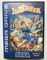 Landstalker blue label -  Sega Megadrive - PAL (version allemande)