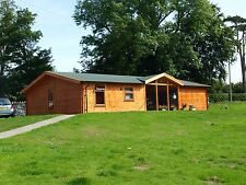 Log Cabin home ,12  by 8  meters, 3 bedroom, we can make any size, fully built.