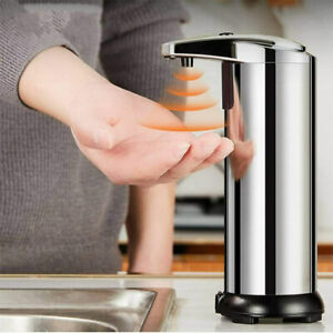 Stainless Steel Soap Dispenser Automatic Induction Infred Soap Dispenser QA
