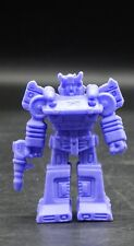 Japanese vintage Transformers BLUESTREAK keshi rubber figure purple G1 Autobot !