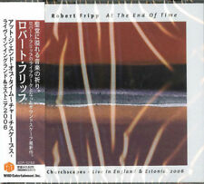 ROBERT FRIPP-AT THE END OF TIME-JAPAN CD F56