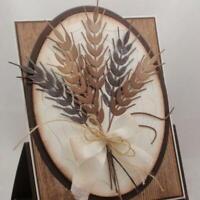 Wheat Die Metal Cutting Dies Stencil Making DIY Decorative Crafts Paper Cards