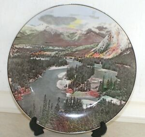 Royal Doulton Collector's Plate Bow Valley Banff National Park D6475. Dia: 27 cm