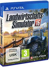 Sony Playstation Vita PSV PSVita Spiel * Landwirtschafts Simulator 2016 * 16 NEU