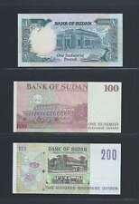 Afrique Ancien Mali Soudan Lot de 3 billets différents  en état NEUF   Lot N° 6