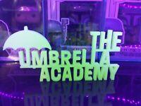 GitD The Umbrella Academy For Funko Pops
