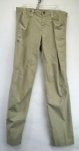 Patagonia Womens Size 12 Tan Hiking Walking Pants (H1)