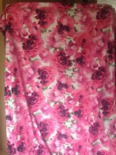 Floral Cotton Sateen Print dress fabric material