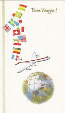 3 cards Italian Buon Viaggio Travel greeting card 19136 Urlaubswuensche Vacation