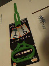"""18"""" Green Cord Strap Handle & Hanger - Extension Cords, Jumper Cables, Air Hose"""