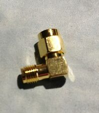 """Sma Right Angle Male to Sma Female Adapter """"New"""""""