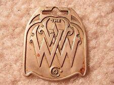 W.W. Williams Heavy Equipment Co. Logo Watch Fob W-2