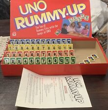 Vintage UNO Rummy Up Mattel 1993 100% Complete With Instructions