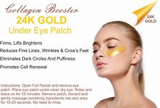 24k Gold Under Eye Mask Collagen Treatment Reduces Fine Lines and Wrinkles