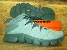 Nike Free Trainer 7.0 NRG Macklemore Promo Sample SZ 10 Green Suede Cactus PE