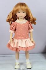 Ginger Wig Size 7/8� Fits De Little Darling Vintage And Modern Dolls