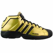 Adidas Pro Modelo 2G Para hombres Baloncesto Tenis Zapatos Casuales-Oro