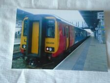 6x4 Photo of East Midlands Trains Class 156-156498 at Derby Midland Station