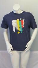 Vintage Adidas Shirt - Abstract 3 Stripes - Men's Large
