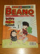 BEANO #2884 25TH OCTOBER 1997 BRITISH WEEKLY