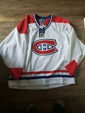 REPLICA Blank Montreal Canadiens BAUER NHL Hockey WHITE Jersey